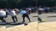 Gewalt bei Protesten gegen Erdogan-Besuch in Washington