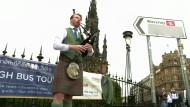 Hälfte der Schotten gegen Unabhängigkeits-Referendum