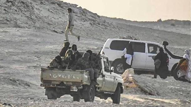 In der Sahara droht Krieg