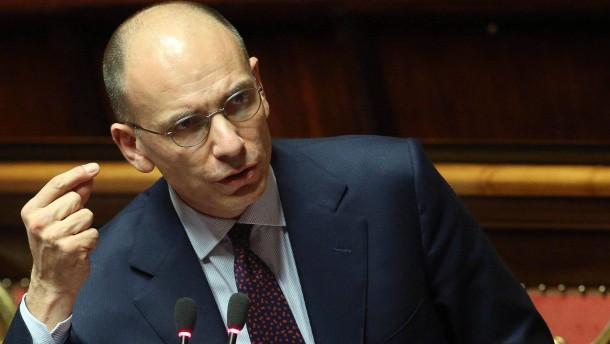 Letta: EU-Beschluss Verdienst aller Italiener
