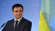 Ukraine bezeichnet Bilder von Streubomben als Fälschung