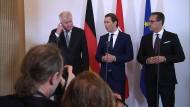 Seehofer und Kurz erhöhen Druck auf Italien