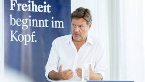 Habeck beklagt Boulevardisierung des Wahlkampfes