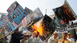 Nordkorea testet die Bombe