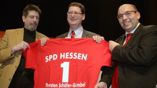 Hessen-SPD will wieder über Politik reden