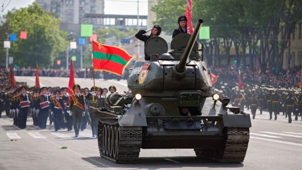 Moskau droht der Republik Moldau
