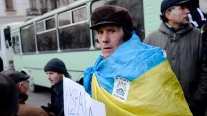 Regierung droht Demonstranten mit Strafen