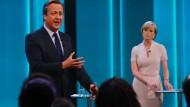 Muss immer wieder über Einwanderungsfragen sprechen: Brexit-Gegner David Cameron im TV-Studio