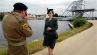 Erinnerungen in der Normandie.