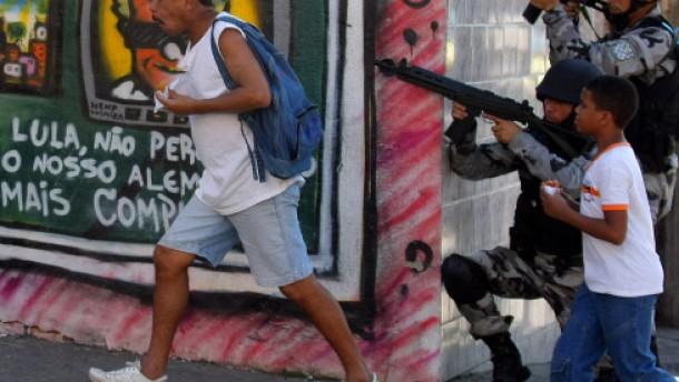 Favelas Kriminalität