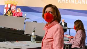 Malu Dreyer zur Ministerpräsidentin wiedergewählt