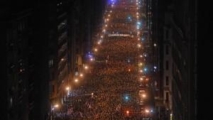Basken demonstrieren für ETA-Häftlinge