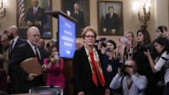 Überrascht von Trumps Angriffen: Yovanovitch vor ihrer Aussage im amerikanischen Kongress