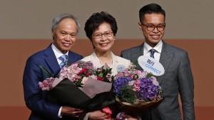 Regierungschefin von Pekings Gnaden