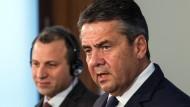 Gabriel besorgt um Stabilität des Libanon