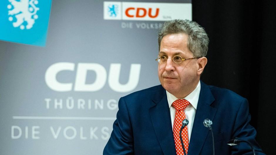 Polarisiert: Der frühere Verfassungsschutzpräsident und frisch zum Bundestagskandidaten gekürte Hans-Georg Maaßen.