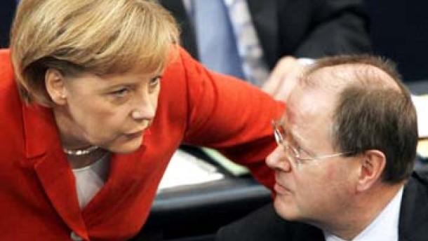 """Schwarz-rote Mehrheit für """"historische"""" Steuererhöhung"""