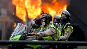Wieder ein Toter bei Protesten in Caracas