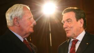 Schröder warnt die SPD vor einem Linksruck