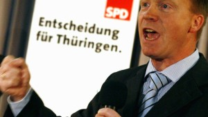 Matschie SPD-Spitzenkandidat in Thüringen