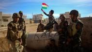 Kurden melden militärische Erfolge