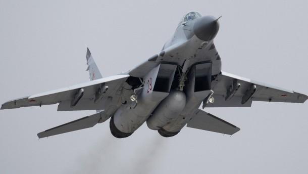 Russland liefert Kampfflugzeuge an Syrien