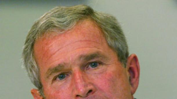 Bush begrüßt Ermittlungen im Weißen Haus