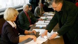 Unklares Ergebnis nach Parlamentswahl
