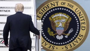 Rückzugs-Präsident Trump