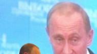 Putins Wahlkampf wirkt zynisch