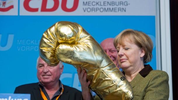 Alle Stimmen für Merkel, fast alle für Steinbrück und ein Neustart in Kiel