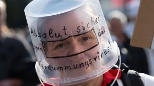 Anti-Corona-Demo in Berlin aufgelöst