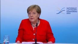 Merkel für zügigen Umstieg der Luftfahrt