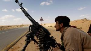 Gaddafi-Truppen schlagen Aufständische zurück
