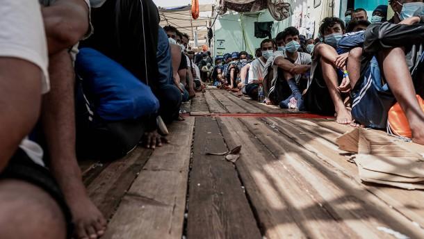Illegale Migration über das  Mittelmeer nimmt zu