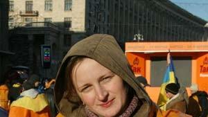 Olga Scholominska, 22 Jahre