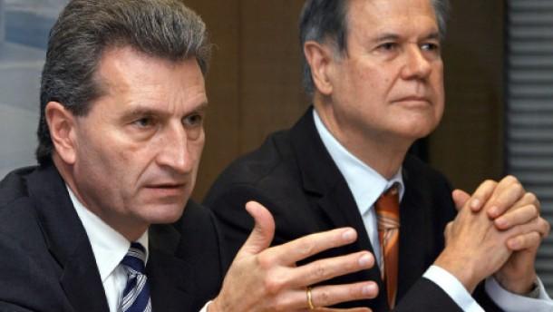 Oettinger beruft Stratthaus als Finanzminister ab