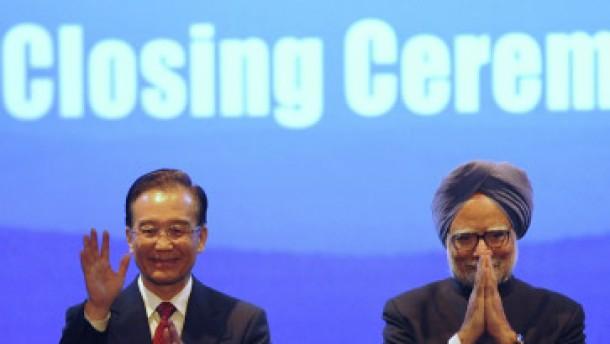 Indien und China wollen Kooperation ausbauen