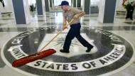 In der CIA-Zentrale in Langley, Virginia