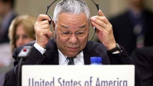 Powell weist Vorwürfe Putins zurück