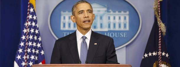 Mit Vertrauen ins neue Jahr gehen: Das rät der amerikanische Präsident trotz weltweiter Krisen seinen Bürgern