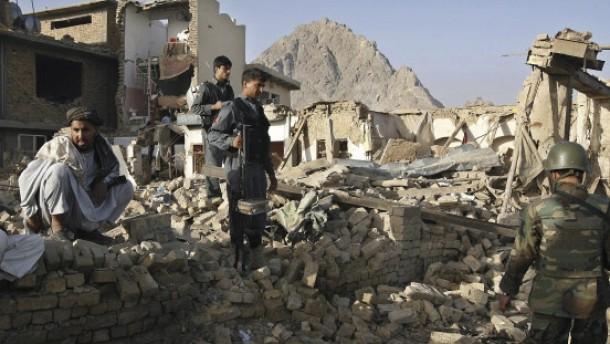 Viele Tote bei Anschlagsserie in Kandahar