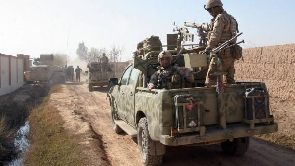 Afghanische Geistersoldaten