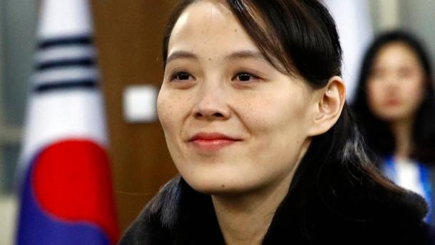 Schwester von Kim Jong-un fordert Zugeständnisse von Amerika