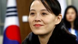 Kim Jong-uns Schwester fordert Zugeständnisse von Amerika