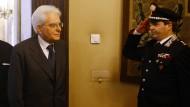 Gute Arbeit, Präsident Mattarella!