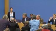 Frauke Petry kündigt Austritt aus AfD an