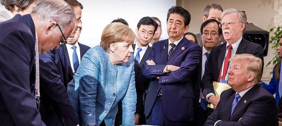 Besser zusammen: Kanzlerin Merkel und Präsident Trump