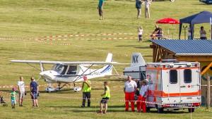 Zwei Tote bei Unglück während Flugplatzfest