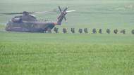 In die Jahre gekommen: Die Bundeswehr nutzt den CH-53 seit Mitte der 70er Jahre